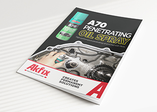 A70 Penetrating Oil Spray Brochure