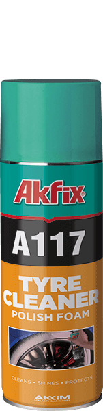A117 Tyre Cleaner & Polish Foam