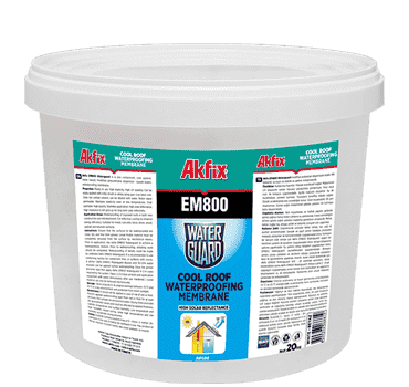 EM800 Waterguard Cool Roof Waterproofing Membrane