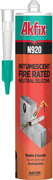 N920 Intumescent Fire Rated Neutral Silicone Sealant