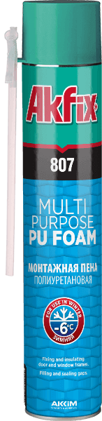 807 Pu Foam Multi Purpose Winter -6°C