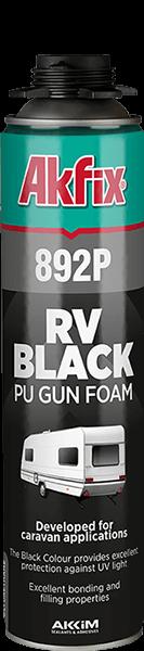 892P RV Black Pu Gun Foam