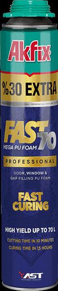 Fast 70 Mega PU Gun Foam