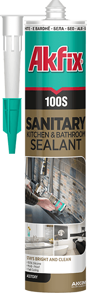 100S Sanitary Kitchen & Bathroom Silicone