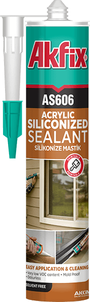 AS606 Siliconized Sealant