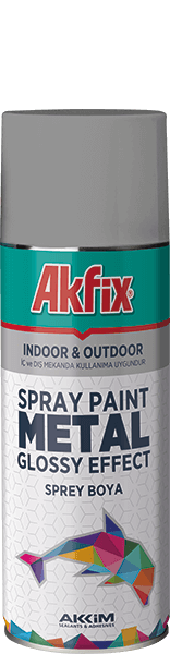 Metal Glossy Effect Spray Paint