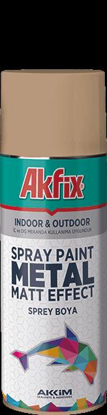 Metal Matt Effect Spray Paint